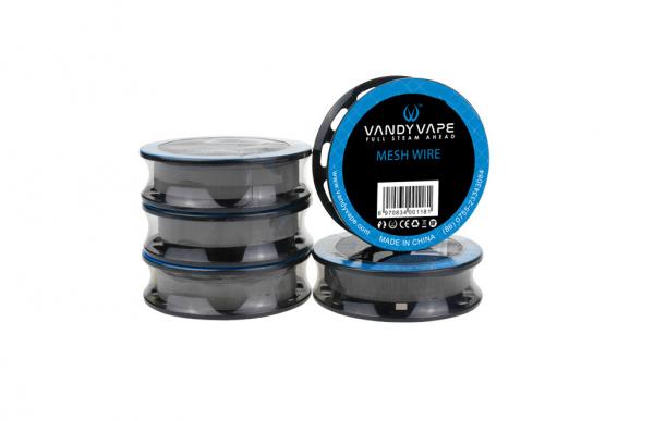 Vandy Vape Mesh Wire NI80 - 100mesh-5ft-1,8ohm/ft