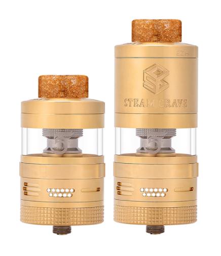 Steam Crave - Aromamizer V2 RTDA 5th Anniversary Edition Gold