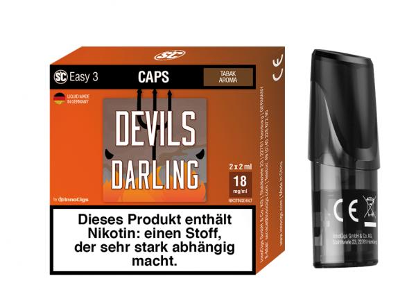 InnoCigs - Easy 3 Caps Devils Darling ( 2er Pack )