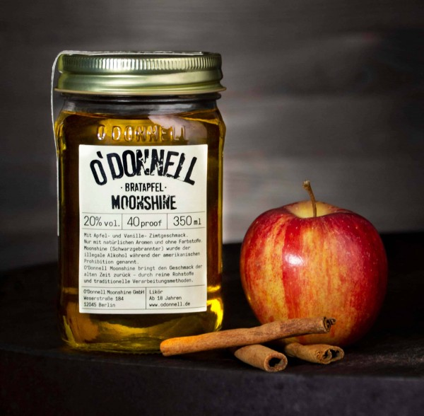 O´Donnell Moonshine - Bratapfel