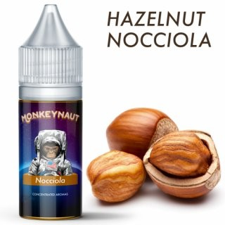 Monkeynaut - Nocciola/Haselnuss 10ml Aroma