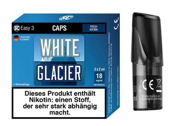InnoCigs - Easy 3 Caps White Glacier ( 2er Pack)