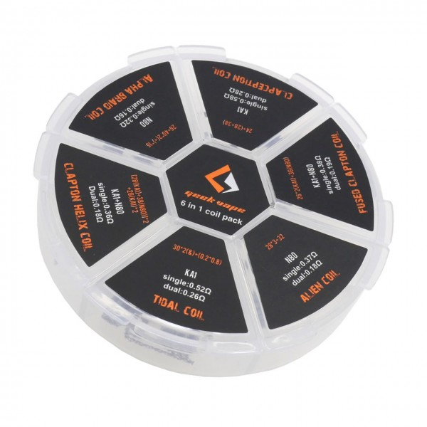 GeekVape - 6 in 1 Coil Box