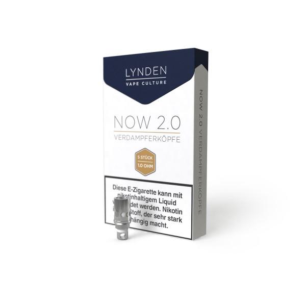 Lynden - Now 2.0 Verdampferköpfe 5er Pack