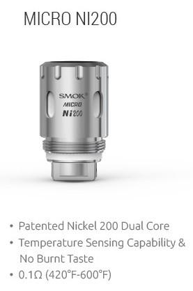 Smok - TFV4 Micro NI200 0,15 ohm Ersatzverdampfer