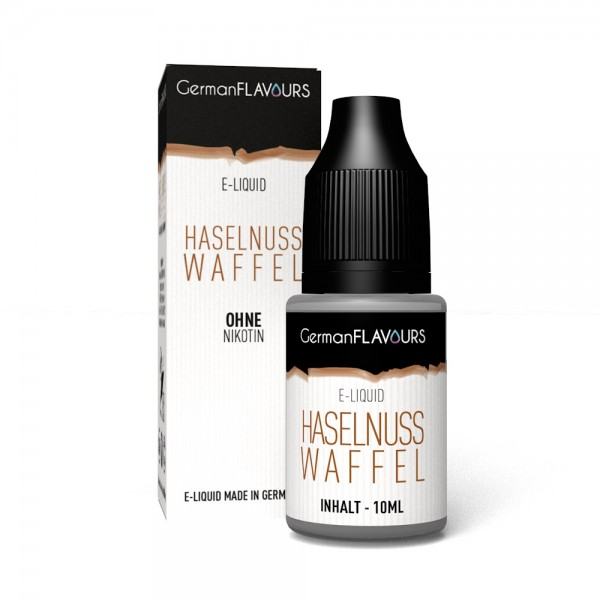 GermanFlavours - Haselnuss Waffel 10ml Liquid