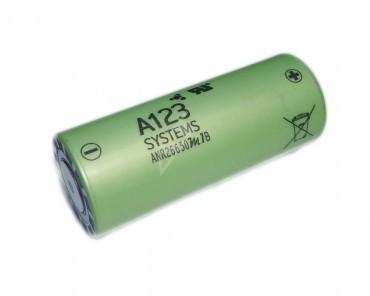 A123 2500mAh 3,3V LiFePo4 Akku