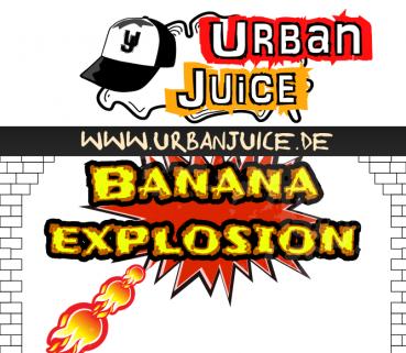 Urban Juice - Banana Explosion - 10ml Aroma