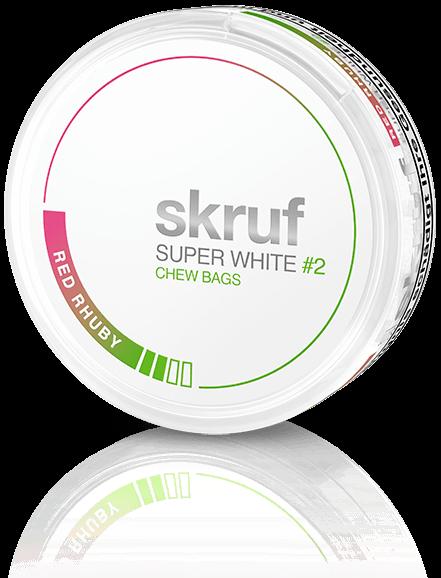 SKRUF - Super White Red Rhuby