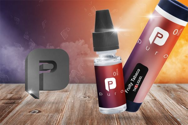 Puro Liquid - Fruity Tabaco 10ml Liquid