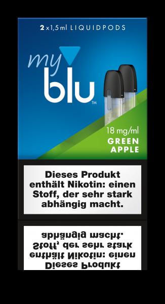 Liquidpods für MyBlu - Green Apple