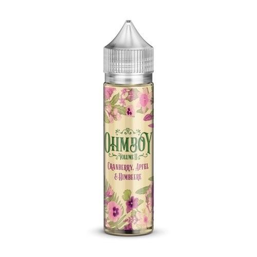 Ohmboy - Volume II - Apfel, Holunderblüten & Minze 20ml Aroma