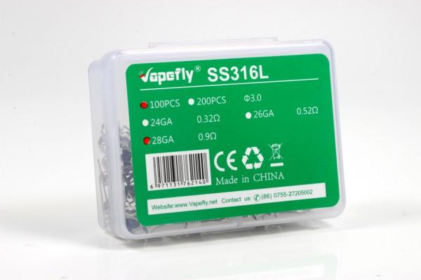 Vapefly 100x SS316 Fertigwicklung