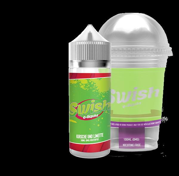 Swish E-Liquid - Kirsche und Limette 100ml (DIY Flavour-Konzentrat)