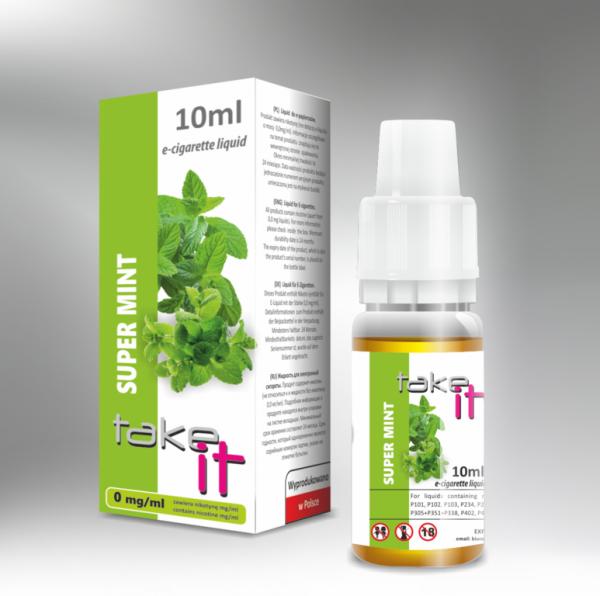 Take it - Super Mint 10ml Liquid